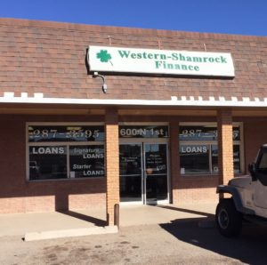 Western Finance Storefront in Grants, nm