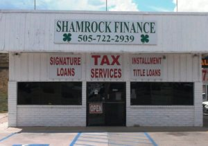 Western Finance Storefront in Gallup, nm