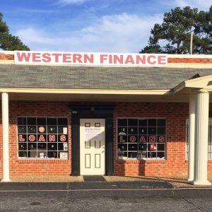 Western Finance Storefront in Longview, tx