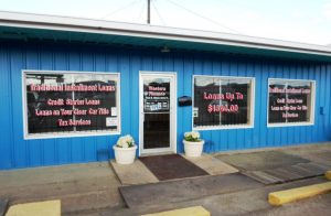 Western Finance Storefront in Mexia, tx