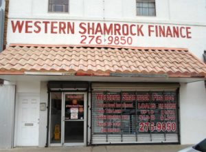 Western Finance Storefront in San Benito, tx