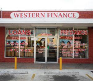 Western Finance Storefront in Corpus Christi, tx