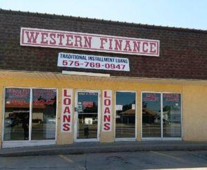 Western Finance Storefront in Clovis, nm