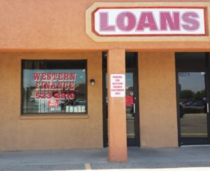 Western Finance Storefront in Las Cruces, nm