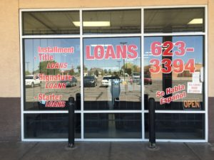Western Finance Storefront in Roswell, nm