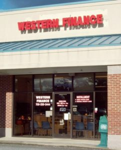 Western Finance Blue Ridge, GA
