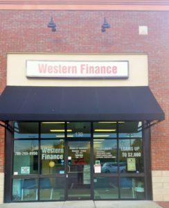 Western Finance Dawsonville, GA