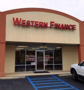 Western Finance Greenville, AL
