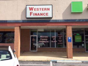 Western Finance Jasper, AL