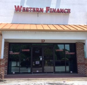 Western Finance Jonesboro, GA