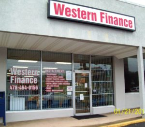 Western Finance Macon, GA