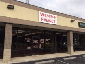Western Finance Muscle Shoals, AL