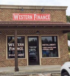 Western Finance St. Marys, GA