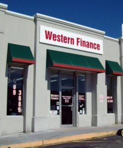 Western Finance Statesboro, GA