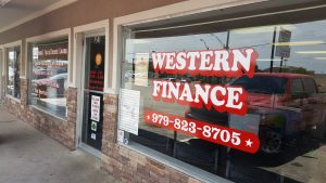 Personal Loan Services in Bryan, TX