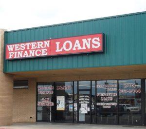 Western Finance Childress, TX