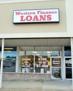 Western Finance Columbia, TN