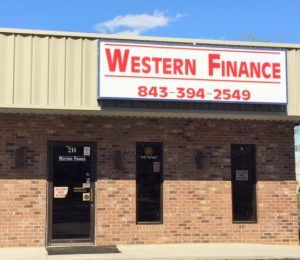 Loan services in and around Lake City, SC