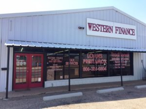 Western Finance Littlefield, TX