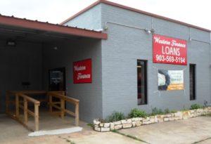 Western Finance Mineola, TX
