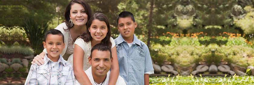 familia en necesidad de un préstamo