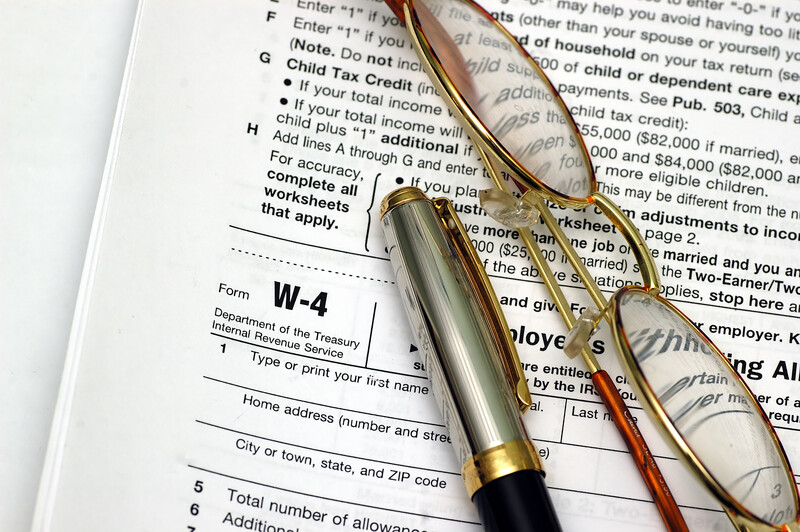 Tax Withholdings and Your W-4